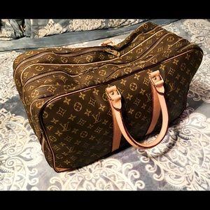 Louis Vuitton Sirius 50-3 zipper compartments